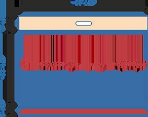 Пакет фасовочный МПП с усиленным скотчем и прорубной ручкой МПП 65х38+7ус.пр.руч+5(100)ск
