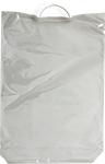 Пакет МПП с пластиковой ручкой для объемной продукции