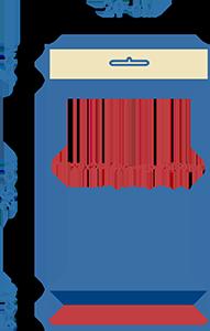 Пакет фасовочный полипропиленовый со скотчем и еврослотом ПП 20х26+4ус.евр+5(30)ск