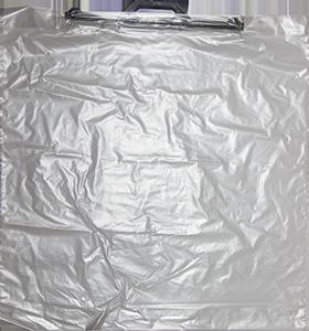 Мешок из полиэтилена высокого давления PE-LD ПВД  с пластиковыми ручками