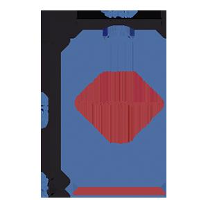 Пакет фасовочный МПП с усиленным скотчем и пластиковой ручкой ручкой МПП 30х45+5(100)ск пл.ручка