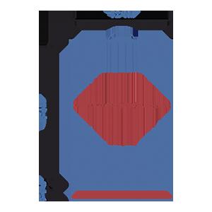 Пакет фасовочный МПП с усиленным скотчем и пластиковой ручкой ручкой МПП 32х45+5(100)ск пл.ручка