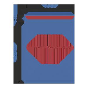 Пакет фасовочный МПП с усиленным скотчем и фальцем МПП 34х42,5+(2х2,5)ф+5(100)ск