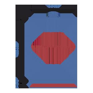 Пакет фасовочный МПП с усиленным скотчем и пластиковой ручкой ручкой МПП 34х45+5(100)ск пл.ручка
