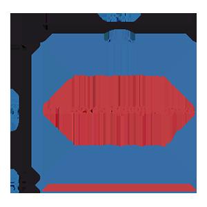Пакет фасовочный МПП с усиленным скотчем и пластиковой ручкой ручкой МПП 52х45+5(100)ск пл.ручка
