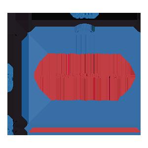 Пакет фасовочный МПП с усиленным скотчем и пластиковой ручкой ручкой МПП 56х45+5(100)ск пл.ручка